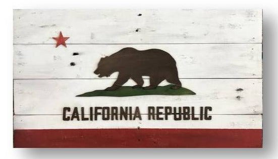 California State Flag | Reclaimed | 24x14