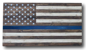 The Thin Blue Line | 36x20