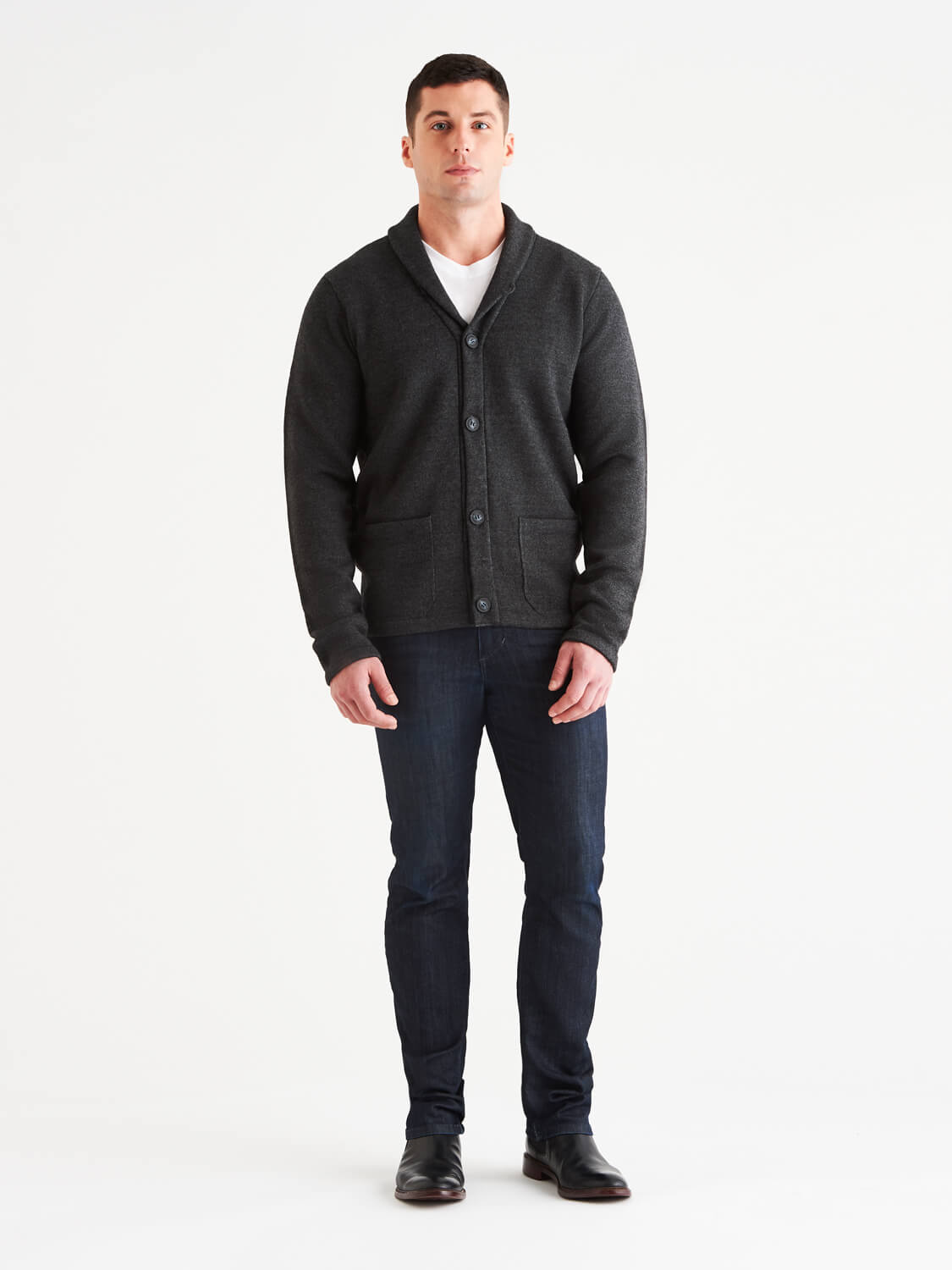 Brixton LuxCore™ Cashmere Cardigan