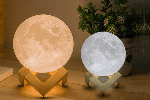 Color Changing Moon Lamp