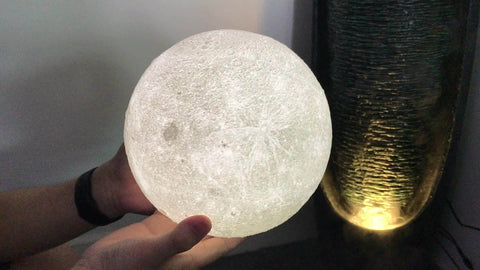 USB Charging Moon Lamp