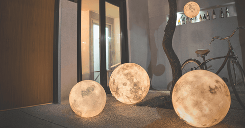 Large Moon Lamps