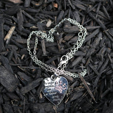 Forever in my heart necklace silver.