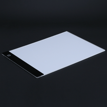 Led tracing board with screen light on.