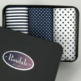 Rosdale Men's Handkerchiefs in Gift Tin