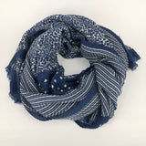 Winter Pleated Scarves