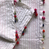 Hand Stitched Table Runner