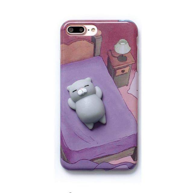 0198720784 Squishy assorted Kitty Case For iPhone 7,7 Plus, 6, 6s Plus – Nische