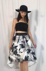 FORMAL FULL PRINT SKIRT
