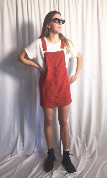 POLLY CORDUROY PINAFORE