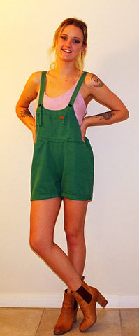 SWEET POT OVERALLS - GREEN