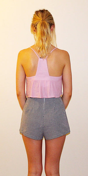LANI MINI CROP TOP - PINK