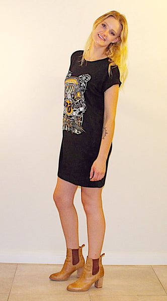 JULIETTA PRINTED T-SHIRT DRESS