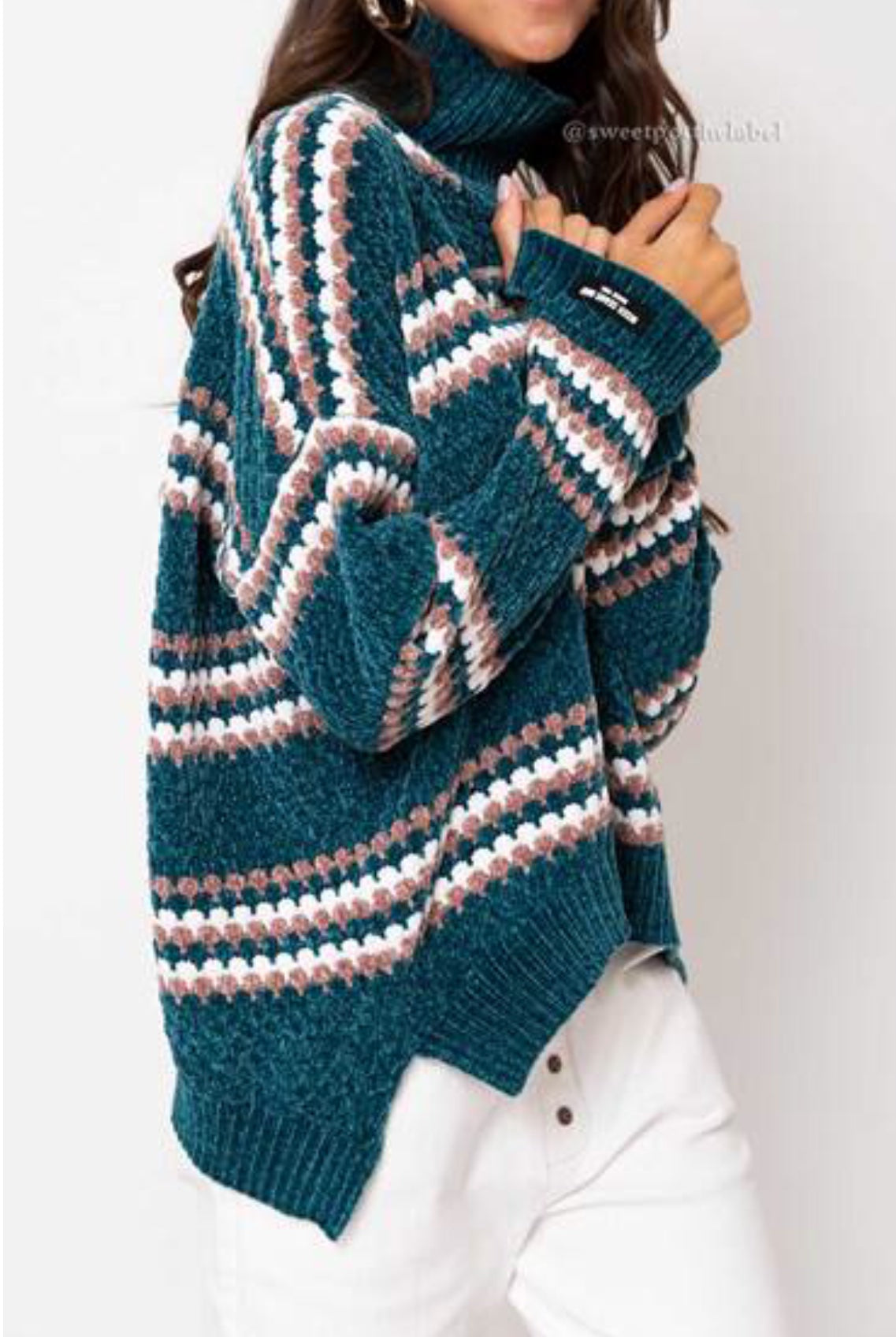 SASCHA MINK FEEL SWEATER