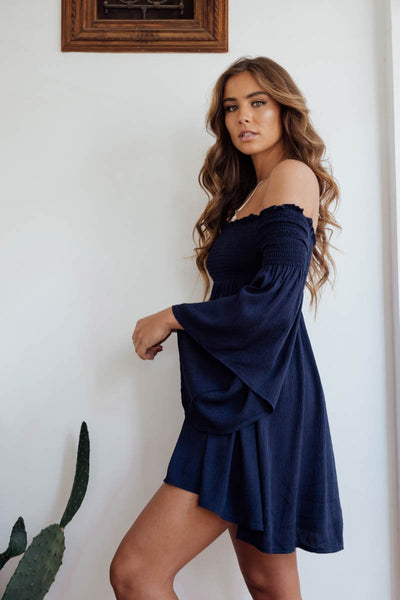 ISRAEL DRESS NAVY