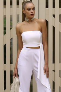 HARMONY BUSTIER - WHITE