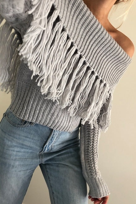 COWGIRL KNIT - GREY