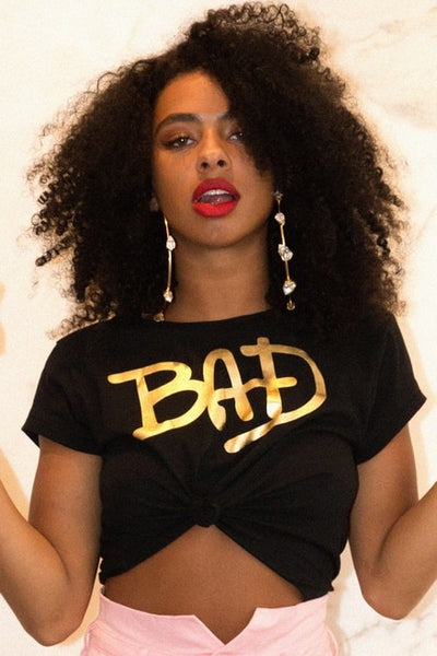 BAD TEE SHIRT - BLACK