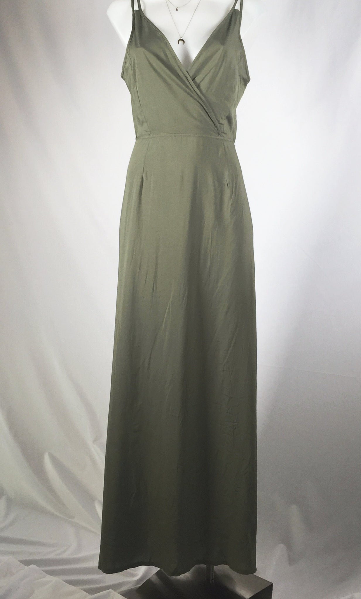 CHRISTY XOVER MAXIDRESS - KHAKI