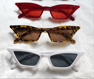 SQUARE CATSEYE SUNGLASSES