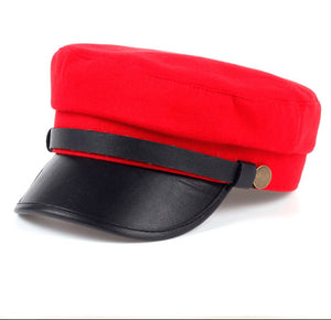 BAKERS CAP - RED