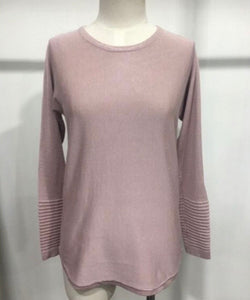 MENZIE PINK KNIT TOP