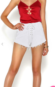 MIRAGE SHORTS - WHITE