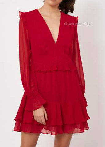 HANIKA RED DRESS