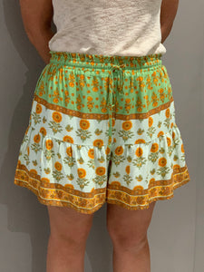 DARCEY SHORTS - GREEN