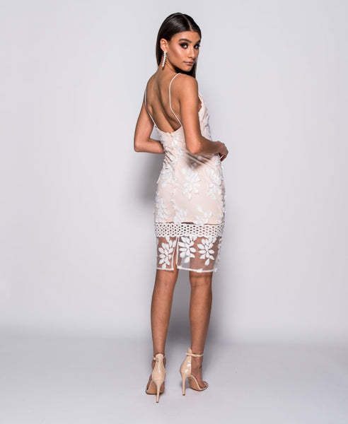 PARISIAN LACE BODYCON DRESS