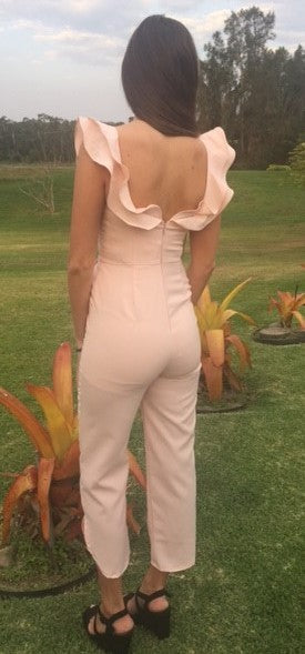 JASLYN PEACH PERFECT JUMPSUIT