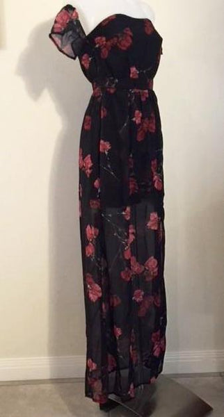 SHANIAH MAXI DRESS WITH SHORTS