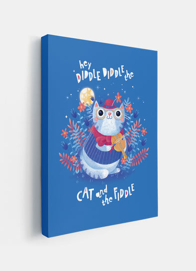 Hey Diddle Diddle Nursery or Kids Print