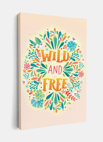 Wild and Free Nursery or Kids Print