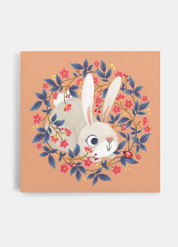 Ink & Elk Little Rabbit nursery canvas print