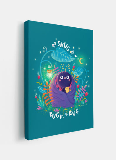 Snug as a Bug Ladybird Beetle Nursery or Kids Print