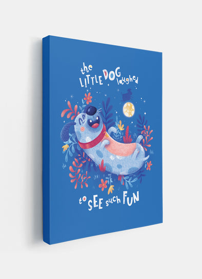 The Little Dog Laughed Nursery or Kids Print