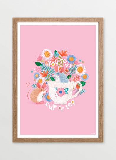 You're My Cup of Tea Nursery or Kids Print
