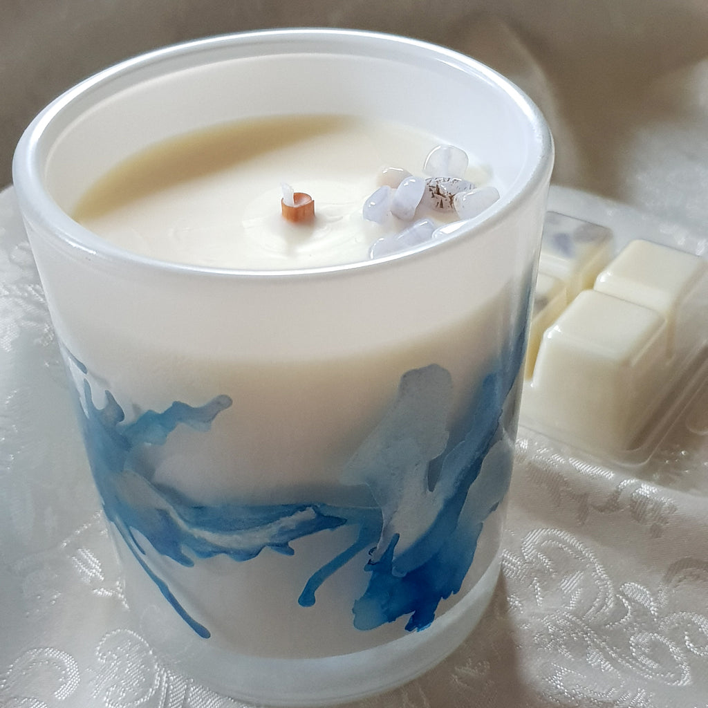 Achates Gemstone Luxe ~ Candle ~ Melts
