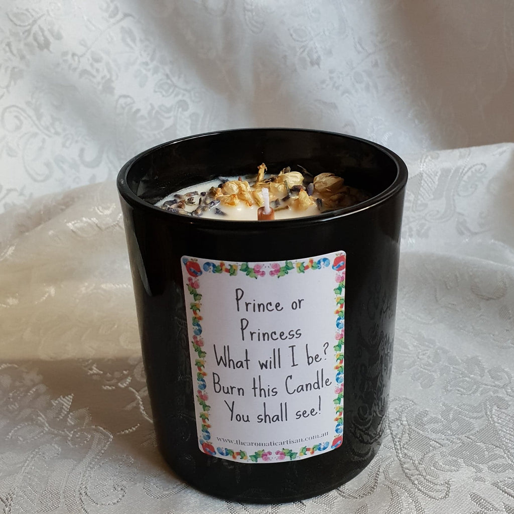 Gender Reveal Crystal Candle