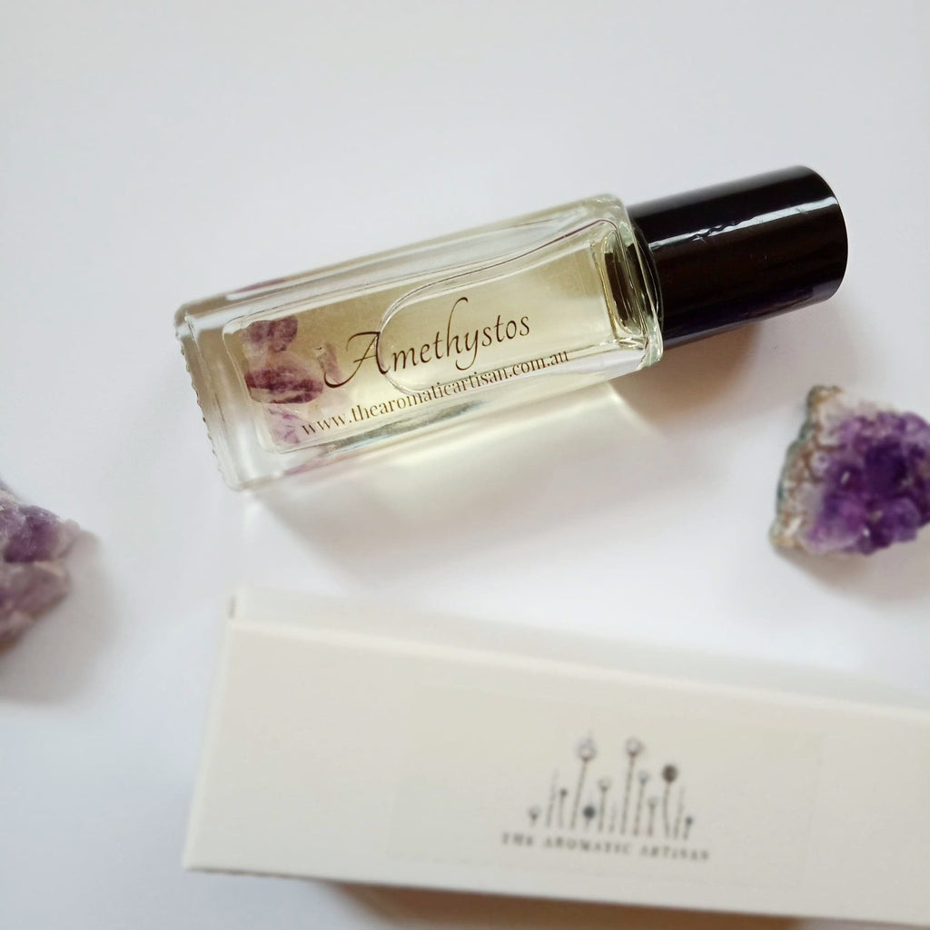 Amethystos ~ Gemstone Luxe ~ Perfume Oil