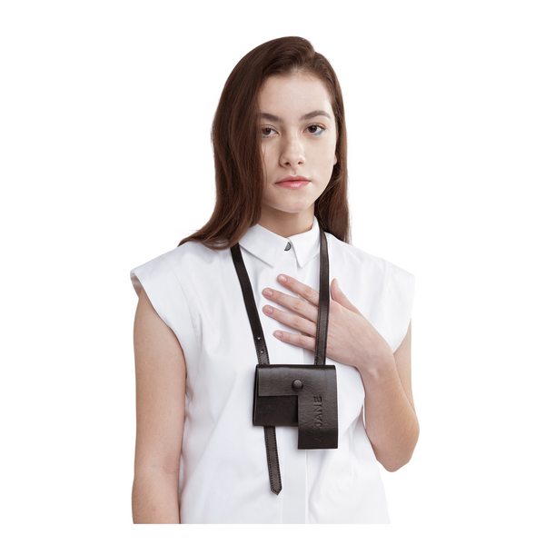 PERCEPTION Multi-Functional Leather Pouch