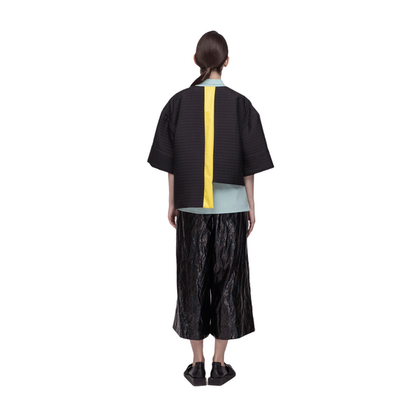 PERCEPTION Geometric Oversized Pocket Top / Jacket