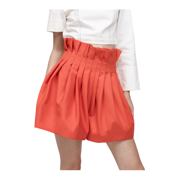 PERCEPTION Pleated Shorts