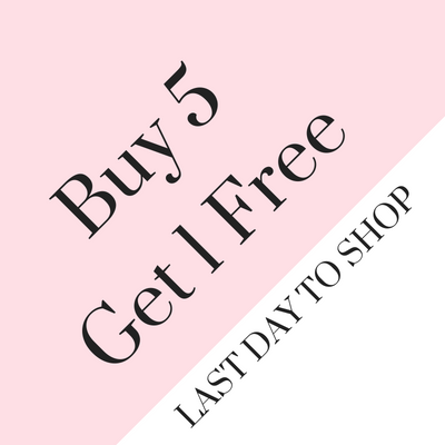 12 Days of Anne Cate (5) Buy 5 Products, Get 1 Free