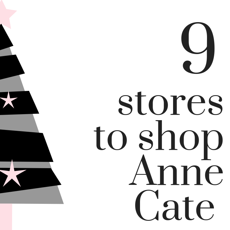 12 Days of Anne Cate (9) 9 Ohio Stores to Shop Anne Cate