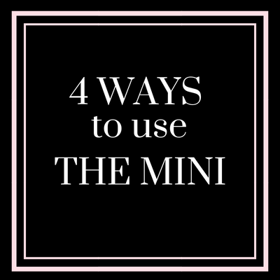 12 Days of Anne Cate (4) 4 Ways to Use the Mini