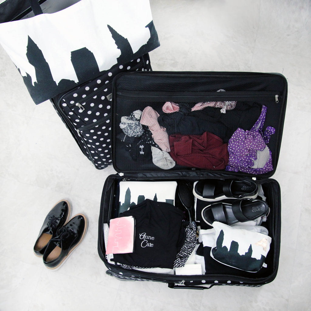 Traveling with Anne Cate: how we use all 4 bags on the road!