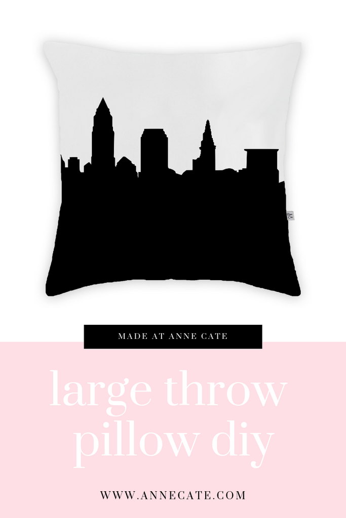Made at Anne Cate: Large Throw Pillows