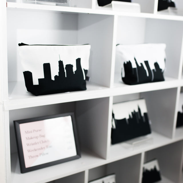 Skyline Silhouette Purses Made in America by Anne Cate